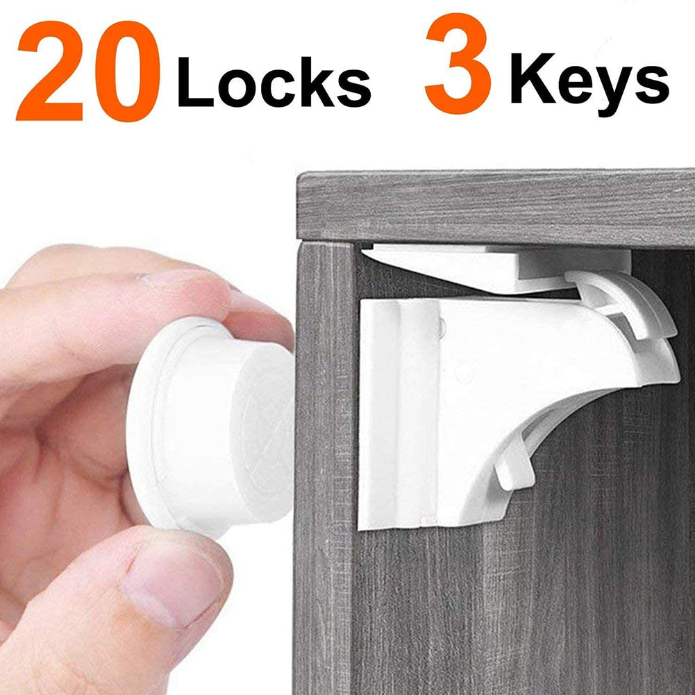Child Protection Magnetic Lock