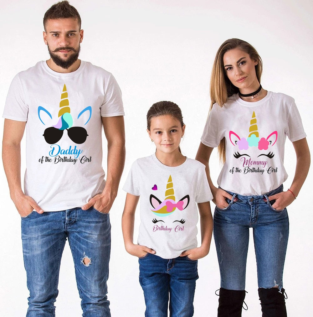 Family Unicorn Matching Clothes
