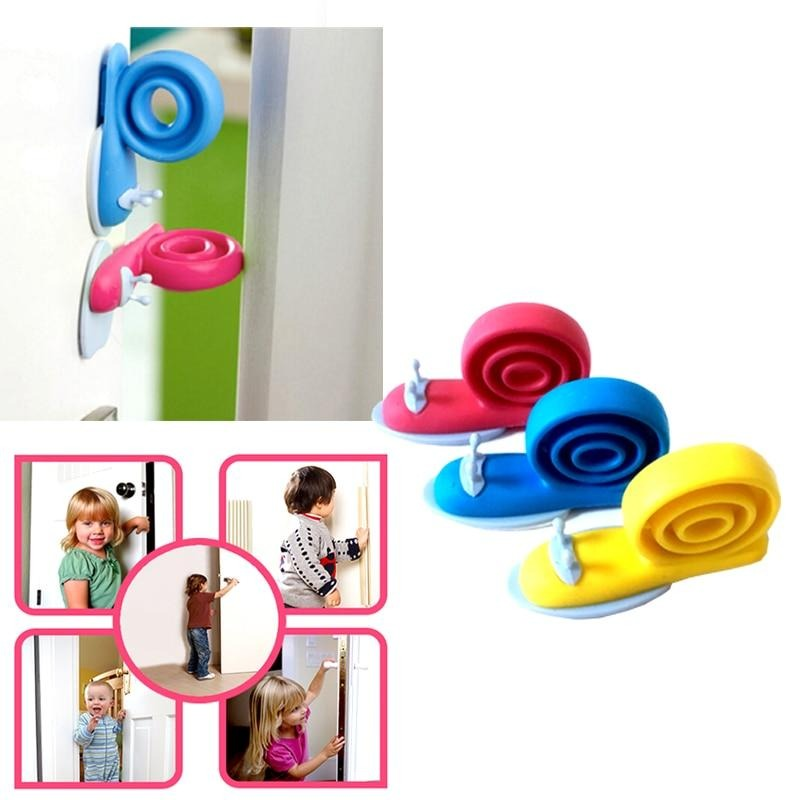 Snail Silicone Door Stopper