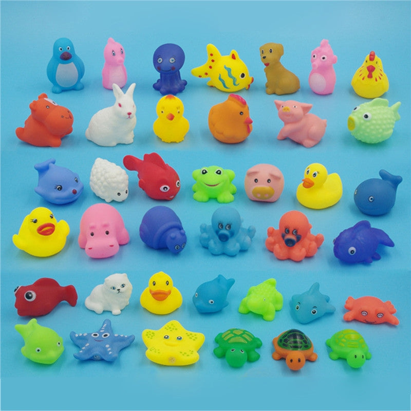 13pc Baby Sea Animals Bathtub Toys
