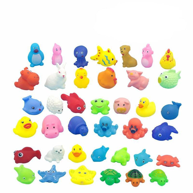 Sea Animals Bathtub Toys Set