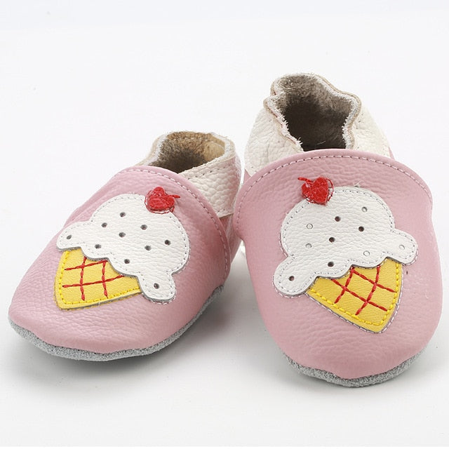 Skid-Proof Baby Crib Shoes 0-24M - 24 styles