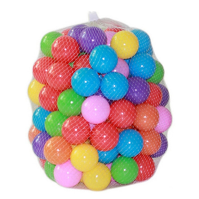 100 pcs/lot Eco-Friendly Color Ball Sets