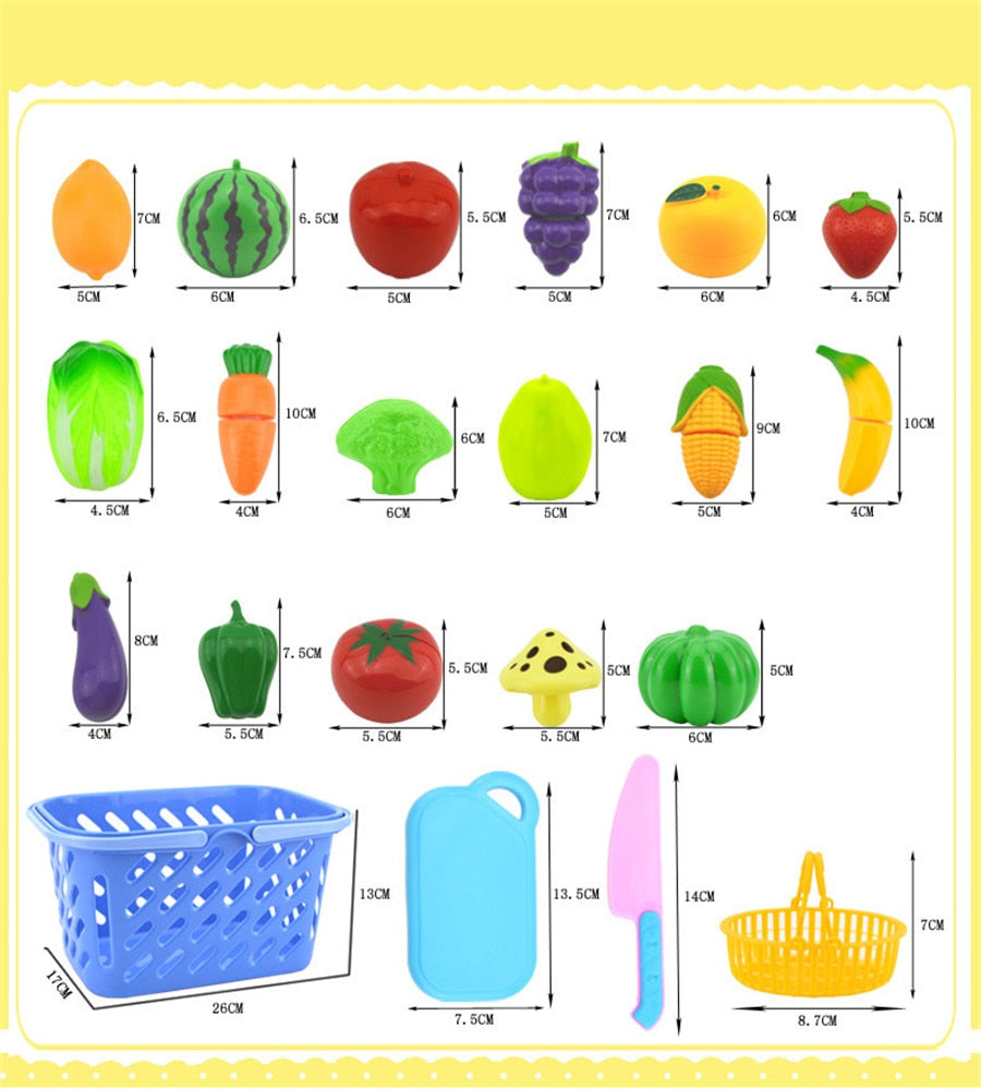8PC DIY Fruit and Vegetable cutting set - 2 sets