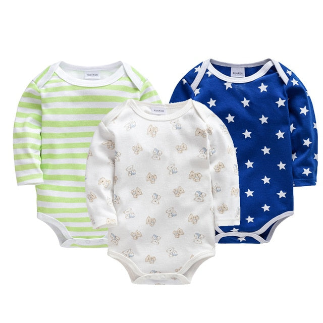 Baby Long Sleeve Romper sets - 8 styles