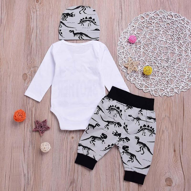 3PCS/Set Newborn Baby Boy Clothes Set