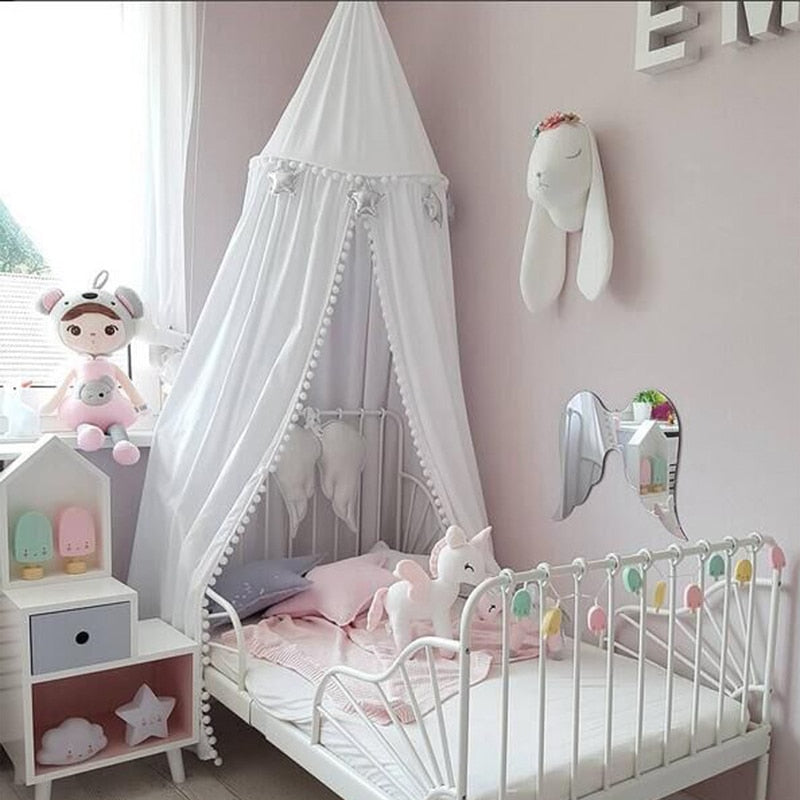 Crib Netting Baby Hung Dome Baby Mosquito Net - 3 colors