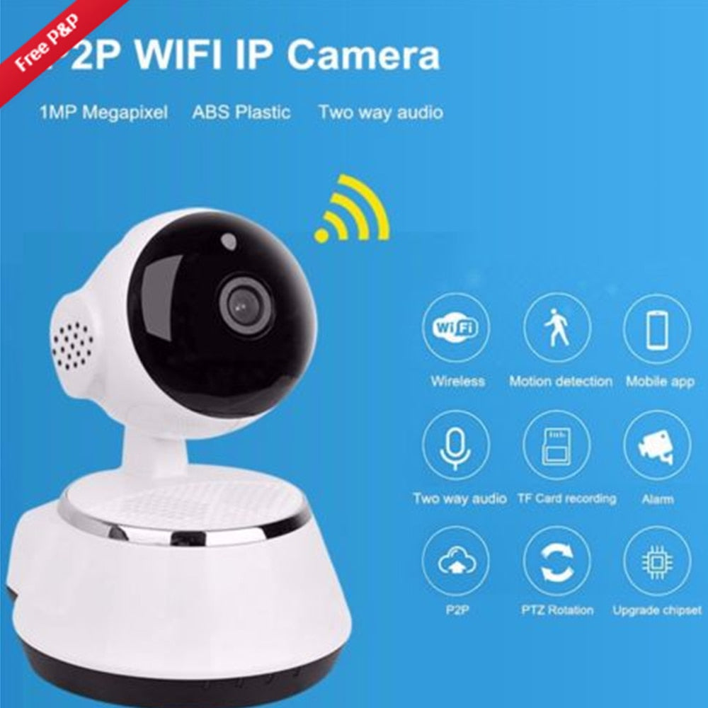 720P HD Wireless Wifi Baby Monitor