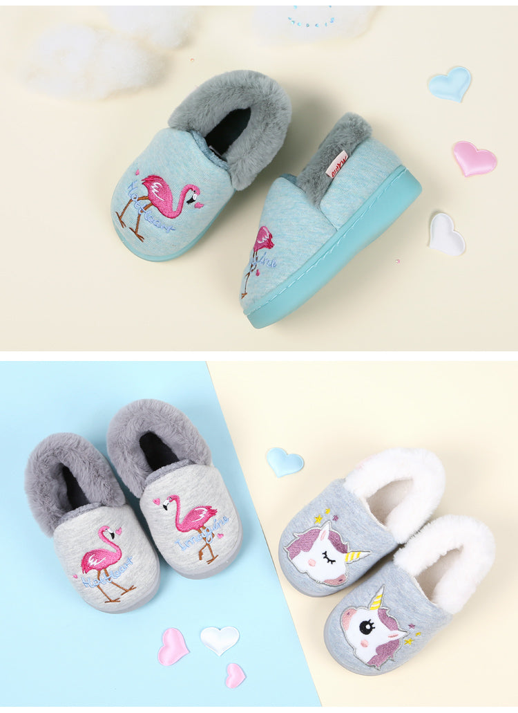 Unicorn Baby Slippers - 1T-3T - 12 Designs