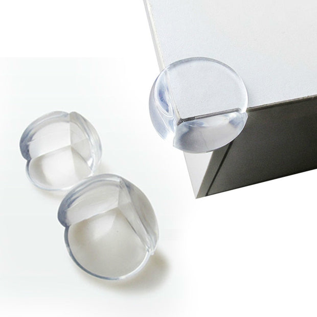 Child Proof Clear Furniture Corner Protectors 8-pack