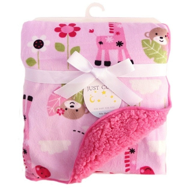 Adorable Coral Fleece Winter Blankets