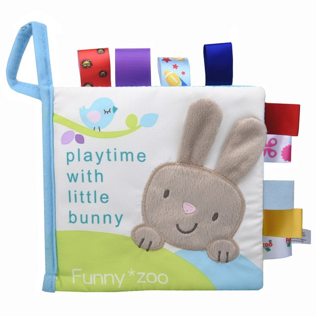 Soft 3D Baby Cloth Book