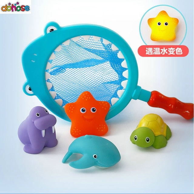Duck Waterwheel Bath Toy