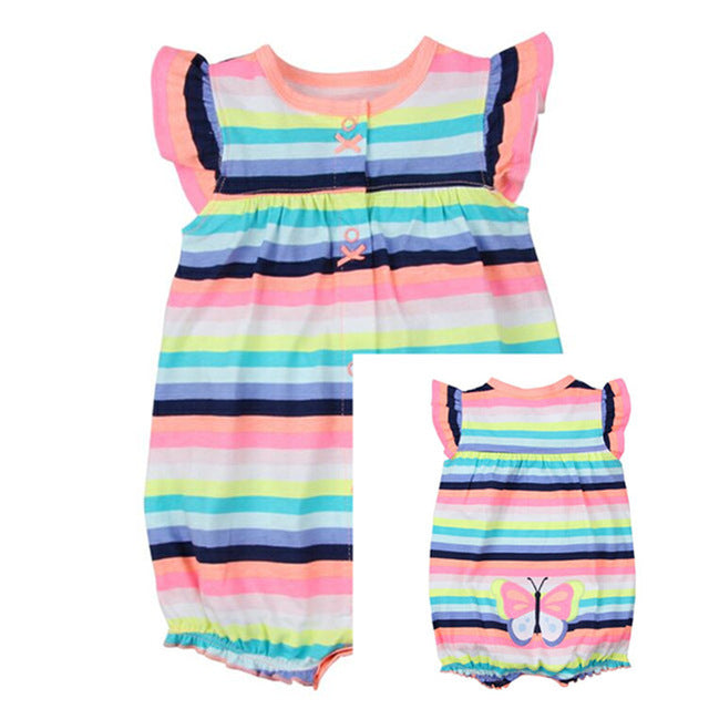 Summer Baby Short Sleeved Jumpsuit - 20 styles