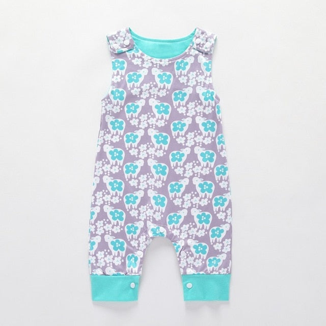 Baby Sleeveless Short and Long Romper