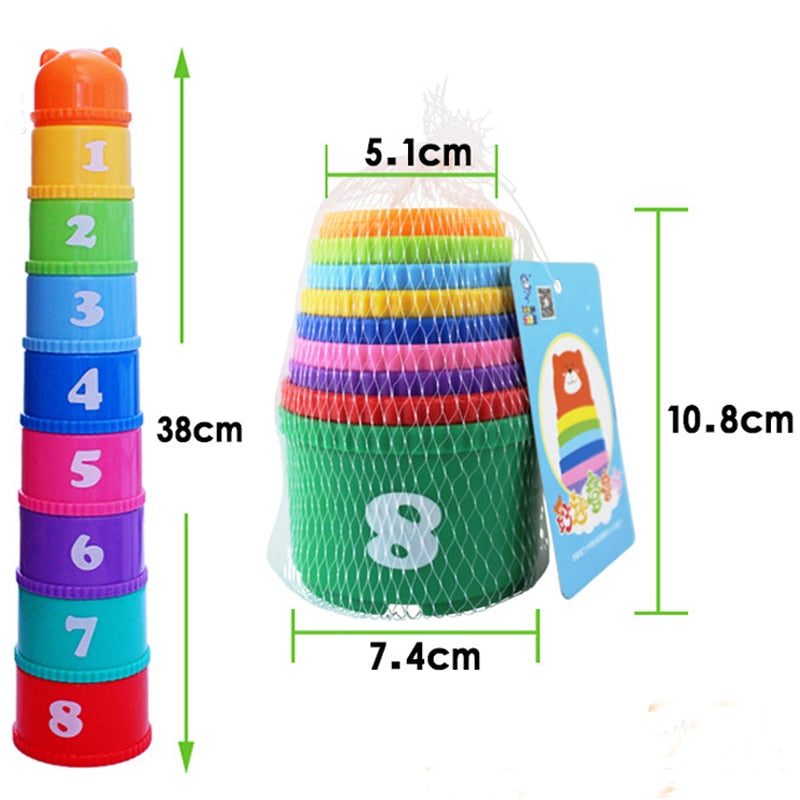 Cartoon Stacking Toy
