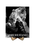 Game of Thrones Mormont - Here we Stand - Freak Plate