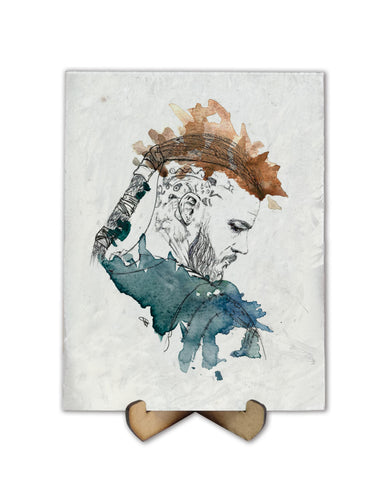 Viking watercolor - Freak Plate