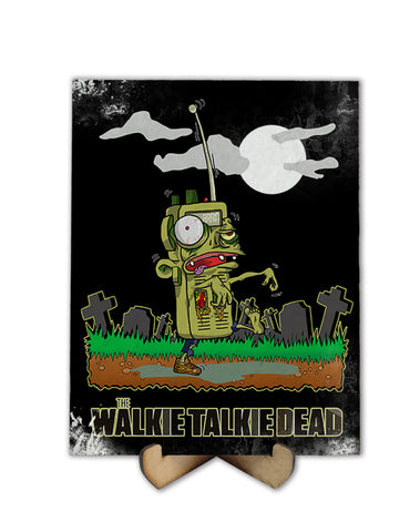 Walkie Talkie Dead - Freak Plate