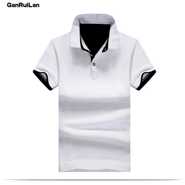 5800c0c6bc New 2018 Men s clothing New Men Polo Shirt Men Business   Casual Solid male  Polo Shirt
