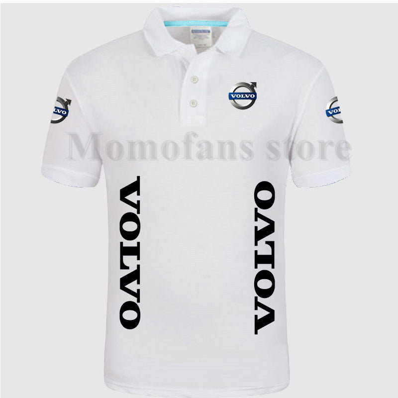 low price great deals best choice Summer style short sleeve soild color cotton Volvo POLO shirts S ...