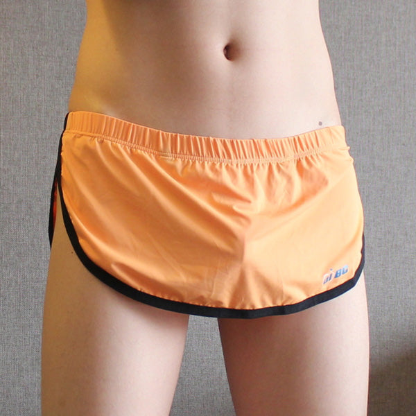 New Design Autumn Men Home dress lounge wear Sleep sexy Shorts with Thong soft material 6 colors Size M L XL-ivroe