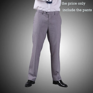 Men Suit Pants 2015 High Quality Breathable Anti-static Formal Suit Pants Straight Business Pants M0216-ivroe