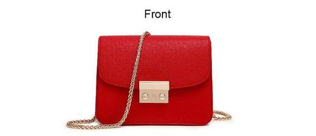 COUGINM New Fashion Handbags For PU Leather Bags Women As Perfect Quality Chain Shoulderbag On Your Any Occasion Have Many Color-ivroe
