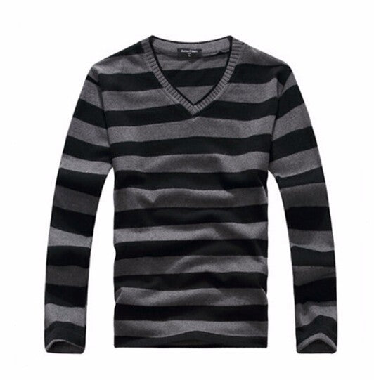 2016 man fake designer brand clothes mens jumper v neck male sweaters polo pullover-ivroe