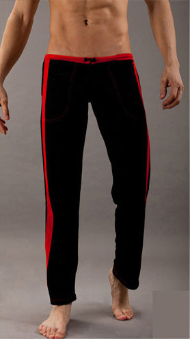 Soft Men Home Long Pants tether Sexy Mens sleep Pant Low waist High quality brand Male Lounge Wear Pants 6 Color Available-ivroe