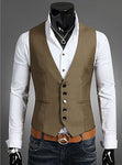 Plus Size Mens Dress Vests For Man Suit Sleeveless Male For Vest Waistcoat Designs Wedding Dresses Blazer Coat Vest-ivroe
