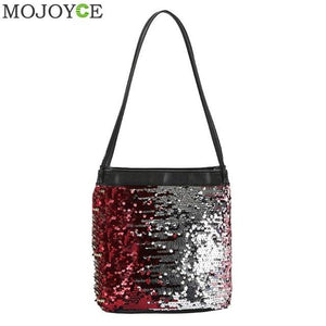 Fashion Women Sequins Shoulder Bag Glitter Sparkling Small Shoulder Bags Casual Tote Bags Sac a Main New Famous Female Handbags-ivroe