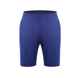 Sleep bottoms men short A51 home wear polyster sleep bottoms-ivroe