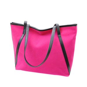 Women Bags Handbags Women Famous Brands New Simple Winter Larger Capacity Leather Suede Women Bag Messenger-ivroe