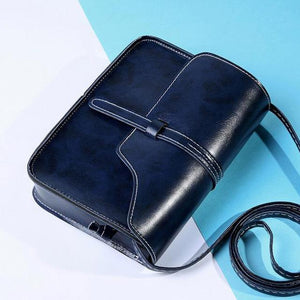 Fashion Women Handbag PU Leather Crossbody Messenger Bag Vintage Shoulder Bags Briefcase Popular-ivroe
