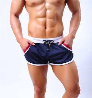 Yipihorse Summer Mens Brand Jogger Sporting Shorts Slimming Men Black Bodybuilding Short Pants Male Fitness Gyms Shorts workout-ivroe