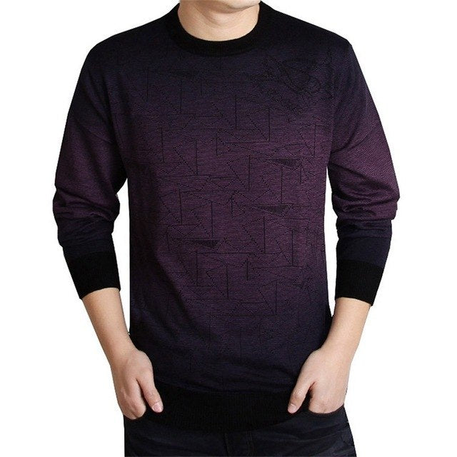 Brand Fitness knitted Sweater Men christmas knitwear Wool Pull O-Neck pullover sweaters for 2017 Casual winter male polo sweter-ivroe