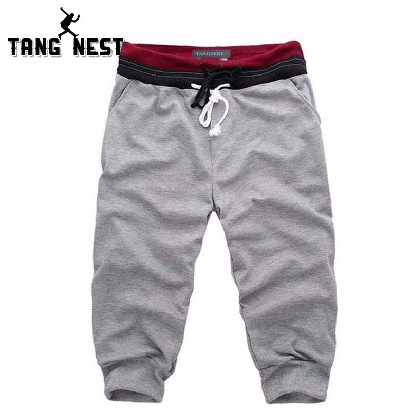 TANGNEST 2018 Hot Selling Summer Men Casual Shorts Loose Comfortable Male Trousers Harem Shorts 4 Color Asian Size M-XXL B439-ivroe
