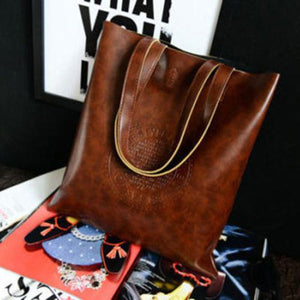 Fashion Handbag Lady Shoulder Bag Tote Purse Leather Women Messenger Hobo Bag-ivroe