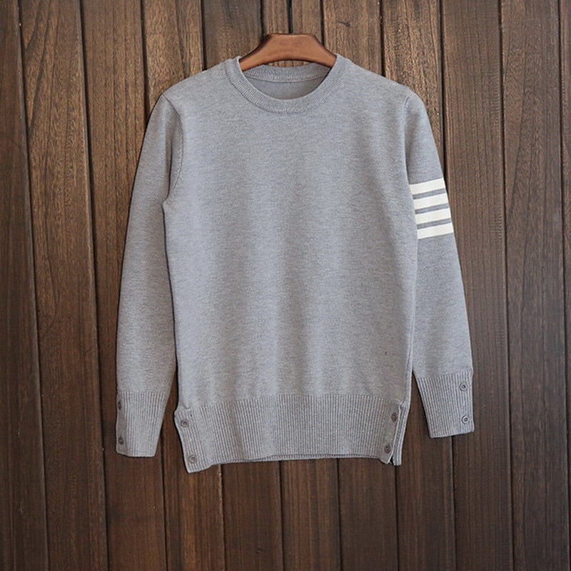 Free shipping New Fashion 2018 Autumn Winter Man Wool Pullovers Men warm Fashion Casual Sweaters Pullovers-ivroe