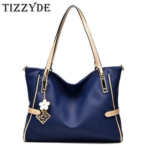TIZZYDE Women High Capacity Handbag Sequined Messenger Bag Queen Temperament Shoulder Bag Simple Female Brand Designer ZHP20-ivroe