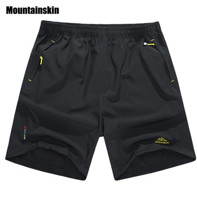 Mountainskin Summer Men's Quick Dry Shorts 8XL 2018 Casual Men Beach Shorts Breathable Trouser Male Shorts Brand Clothing SA198-ivroe