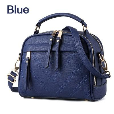 ZMQN Women Shoulder Bag Candy Colors Fashion Handbags Brand Small Leather Crossbody Bags For Women Messenger Bag Girl Zipper 507-ivroe