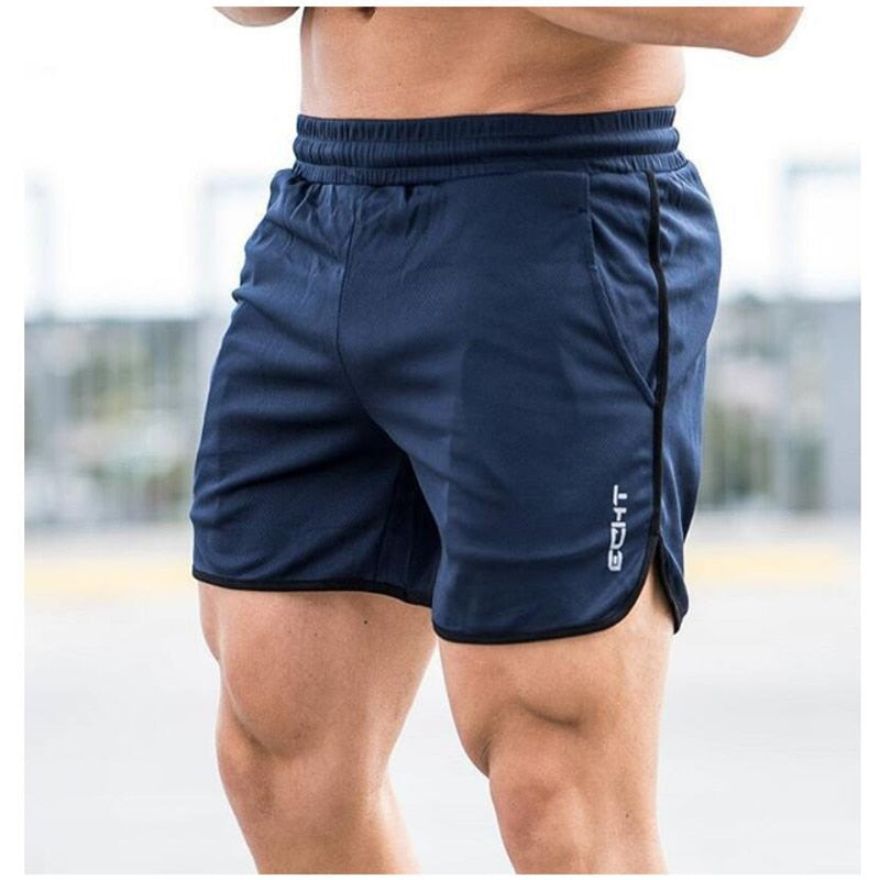 New Gyms Sporting Shorts men bermuda Men's Short homme 4 Models Casual brand clothing Letter Elastic Waist Gyms Shorts-ivroe