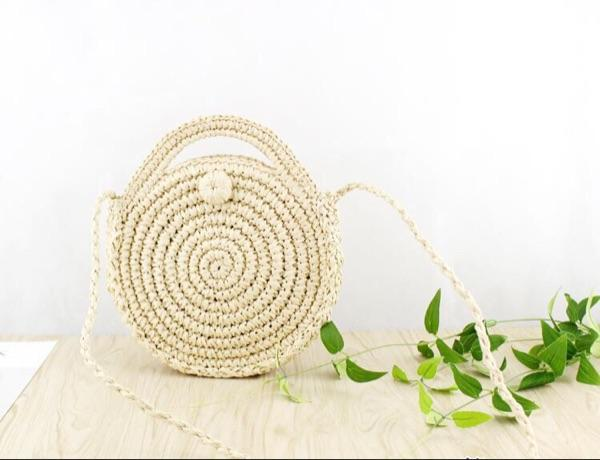 2018 Brand Women Beach Straw Bags Summer mini Vintage Handmade Crossbody Shoulder Bags Female New Purses Handbags Ladies Totes-ivroe