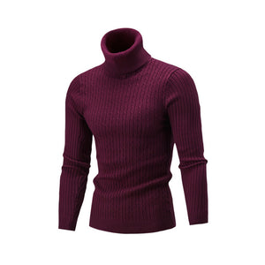 NEW 2018 Winter Mens Fashion Sweaters and Pullovers Men Brand Sweater Male Outerwear Jumper Knitted Turtleneck Sweaters M-XXL-ivroe