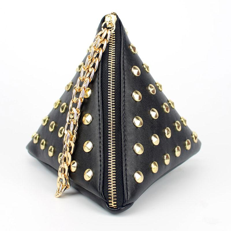 Rivet Women Bags Design Brands Vintage Shoulder Bag 2018 Summer Fashion Women Messenger Bags Rivet Bolsos Bolsas-ivroe