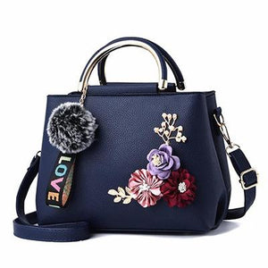 YOUNNE 2018 color flowers shell Women's tote Leather Clutch Bag Ladies Handbags Brand Women Messenger Bags Sac A Main Femme-ivroe