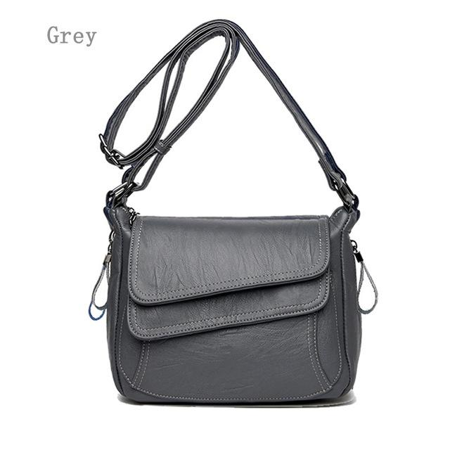KXYBZ Luxury Women Bags Designer Soft Leather Shoulder Bag High Quality Small Women Crossbody Bag Casual Messenger Bag K3015-ivroe