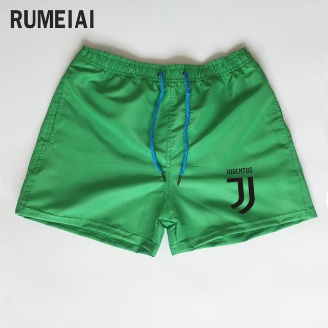 Shorts Mens Bermuda 2018 Summer Beach Men shorts Juventus Letter print Male Brand Men'S Short Casual Fitness Jogger 7 color XXXL-ivroe